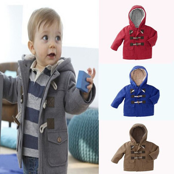 New 2016 baby Boys Children outerwear coat fashion kids jackets for Boy girls Winter jacket Warm hooded children clothing