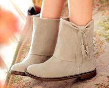 2015 nuevas mujeres de la moda de primavera y otoño martin botas botas de nieve de algodón acolchado zapatos de plataforma(China (Mainland))