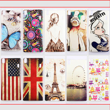 Luxury Lenovo K3 Note Case Phone k50-t Soft TPU cartoon Painting Cases Lenovo K3 Note Cover Shell Back Cover free shipping