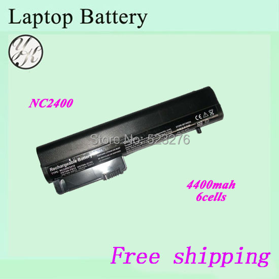 4400mah NC2400 NC2410 Laptop battery For HP Compaq Business 2510p 2530p 2533t Mobile Thin Client(China (Mainland))