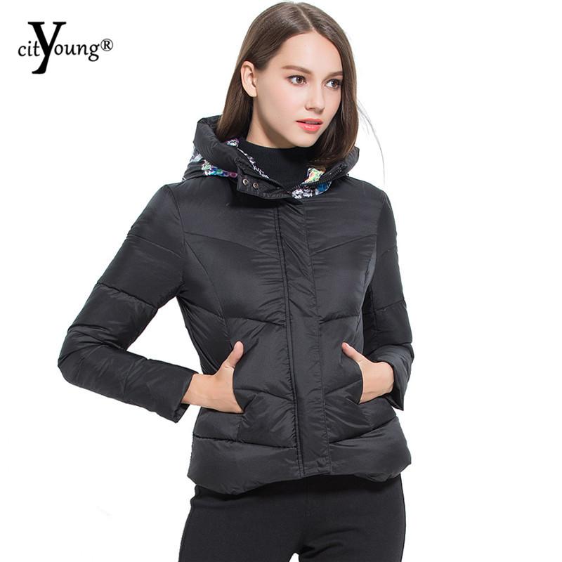5 color of winter coat women jacket women parka with skull print hooded jaqueta feminina manteau - Manteau Femme Color