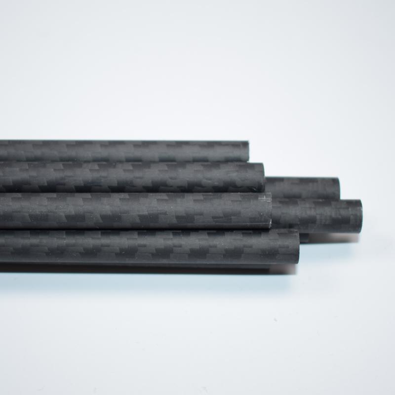④1pcs 26mm Od っ X X 24mm Id Carbon Fiber Tube 3k