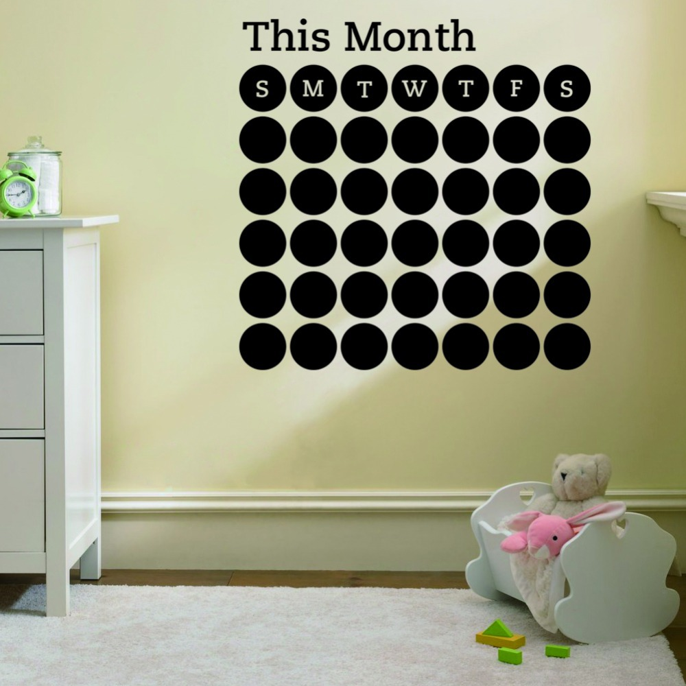 removable murals chalkboard decal office decor in wall stickers from