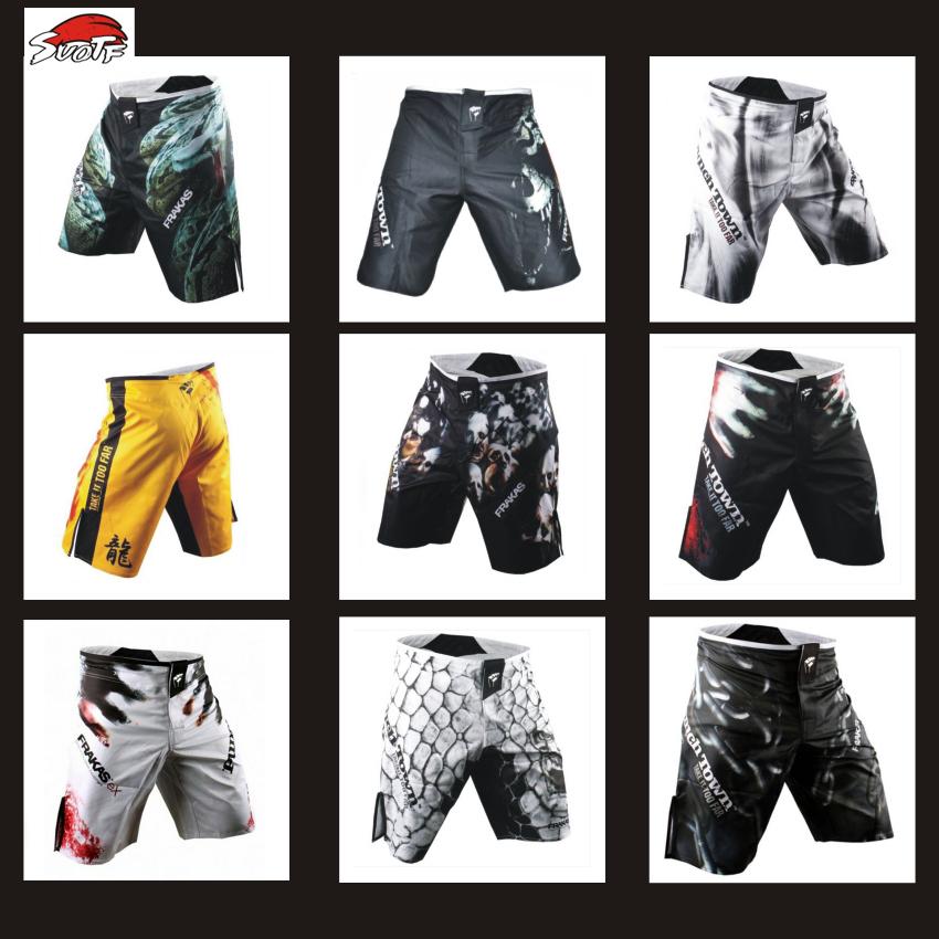SUOTF MMA sparring sports training Muay Thai boxing pants muay thai boxing shorts thai clothing kickboxing shorts kickboxing(China (Mainland))