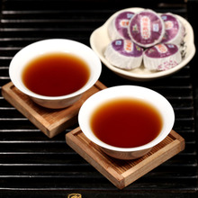 Free shipping Chinaese Yunnan Specialty Glutinous rice Puer Tea healthy green drink orgnic Puer tea mini