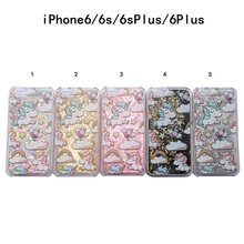 Buy New Cartoon Unicorn Horse Cover Dynamic Paillette Glitter Stars Water Dynamic Liquid Case iPhone SE 5 5S 6 6S 7 7S & Plus for $1.25 in AliExpress store