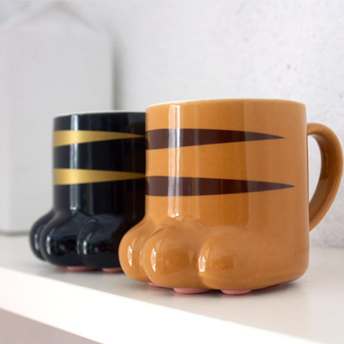 Free Shipping Unique Design Paw Ty Mug Lovely Cat Claw