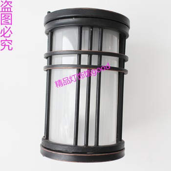 Fashion outdoor wall lamp vintage rustic wall lamp modern brief chinese style antique outdoor lamps waterproof wall lamp