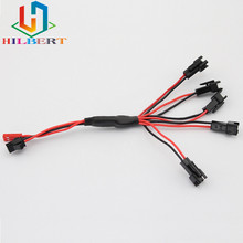 Buy 7.4V lipo battery 5 1 charger cable charging 2s batteries SM plug Free for $3.98 in AliExpress store