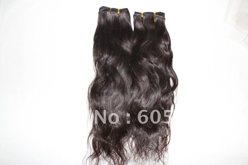 Brazilian virgin hair extension best selling  nature wave12-26 natural can be dyed wholesale price<br><br>Aliexpress