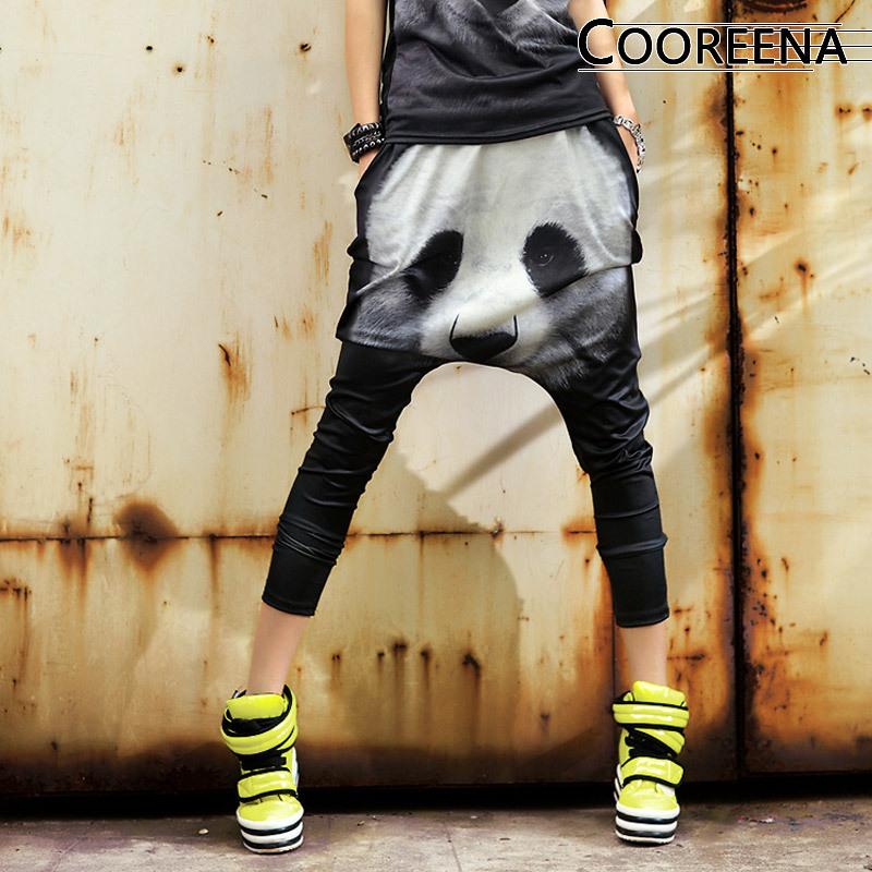 2015 New fashion casual Sweatpants Costumes female Skeleton funny sport trousers pander  Harem Hip Hop Dance PantsОдежда и ак�е��уары<br><br><br>Aliexpress
