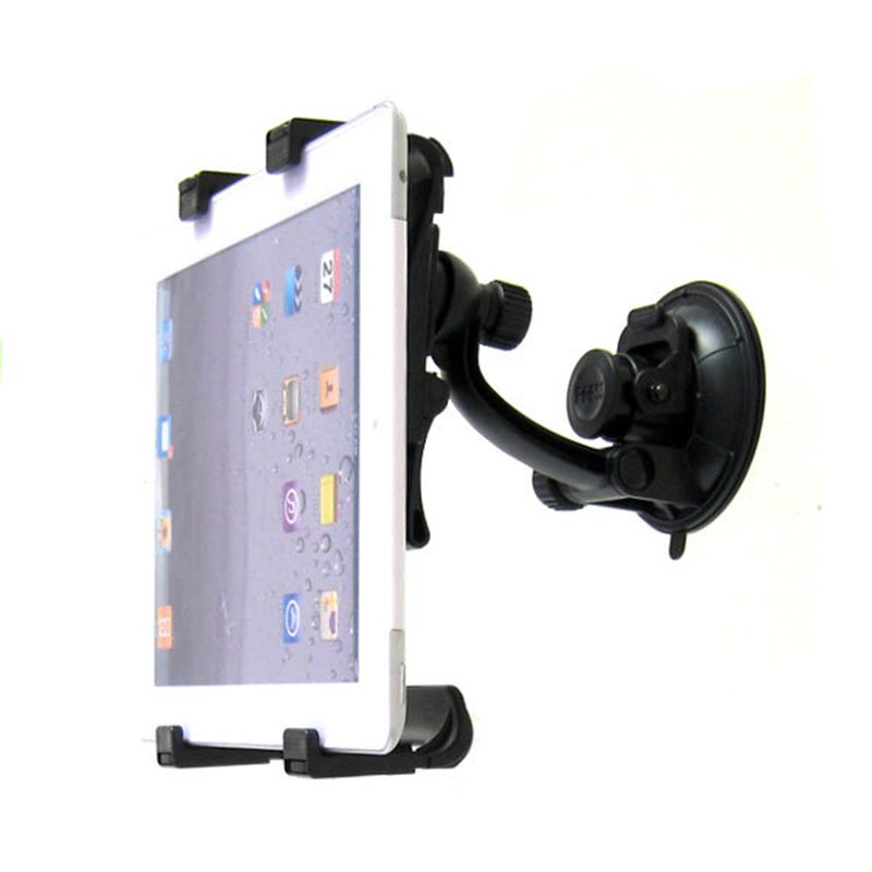 Universal Plastic Car Windshield Mount Bracket Kit Stand Holder For iPad mini 1 2 3 Samsung Tablet pc(China (Mainland))