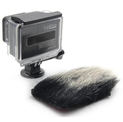10шт лобовое стекло бэкдор чехол для gopro hero3 + 3 легкий кролик тканью корпус камеры Аксессуары