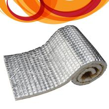 """2014 Direct Selling Real free Shipping!!! Car Heat Shield Insulation Barrier Sound Control Deadener Mat 40""""x180"""" 50 Sqft(China (Mainland))"""