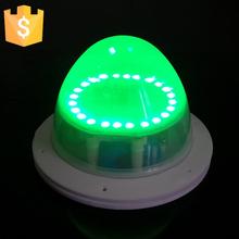 D117mm IP65 Inductive charging 4000Mah Lithium battery RGBW 24+24 white Night lights LED Light Source Wholesale 200pcs(China (Mainland))