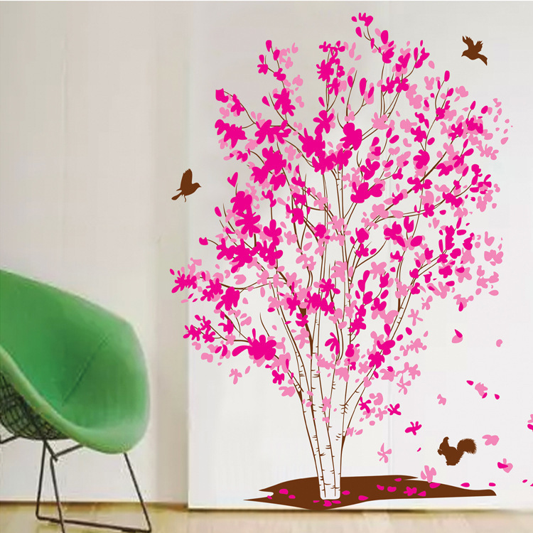 Wholesale new home fashion removable sticker sticker XY1161 Dream tree factory outlets(China (Mainland))