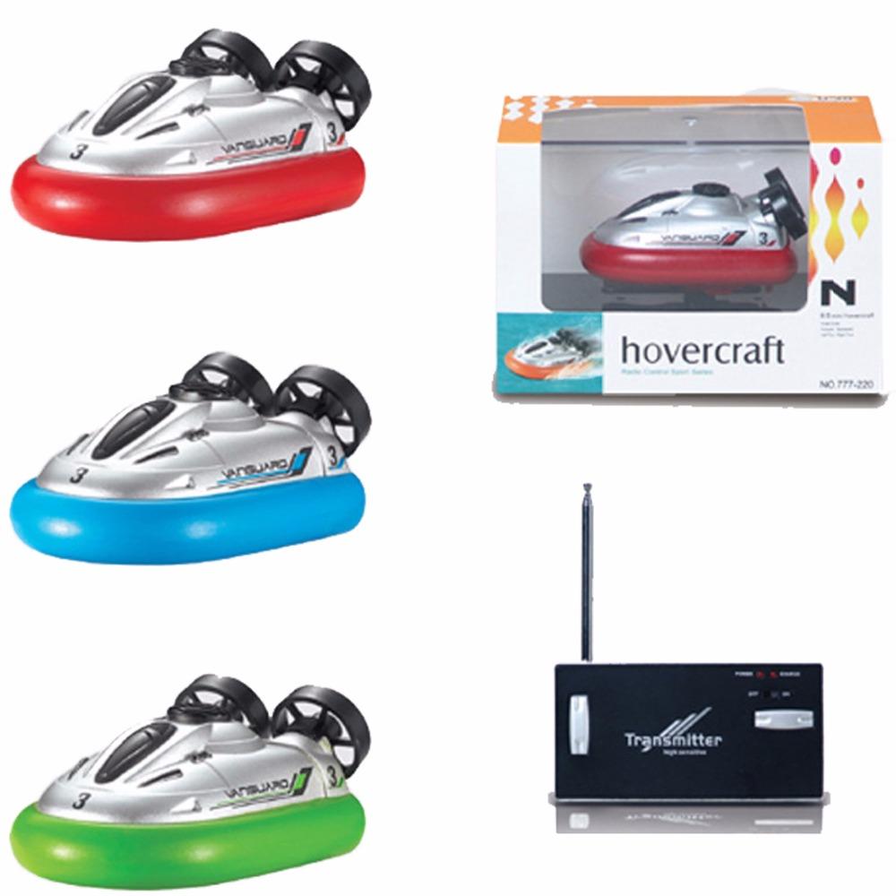 Mini RC Hovercraft 1 pcs/set Boxed Color May Vary