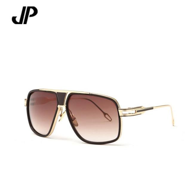 Jp тавра мужчины винтаж очки летом стиль солнцезащитные очки большой кадров выпученными ...