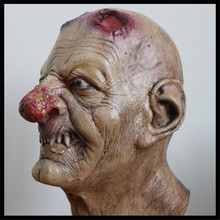 Halloween Party Adult Zombie Bloody Undead Mask Horror Scary Insane Halloween Mask