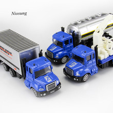 Buy 1:64 Alloy Engineering Toy Car Mining Car Truck Children's Birthday Present transport machine sliding car truck model wholesalv for $4.25 in AliExpress store