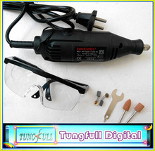 2014 New 180W speed Dremel rotary tool of power tools, mini drill , mini grinder with safety glasses and accessories