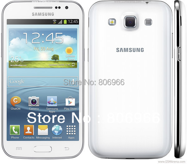 GT-I8552 100% Original Samsung Galaxy Win Quad Core Dual Sim 4.7 inch 5Mp Camera Refurbished Android Cell Phones(China (Mainland))