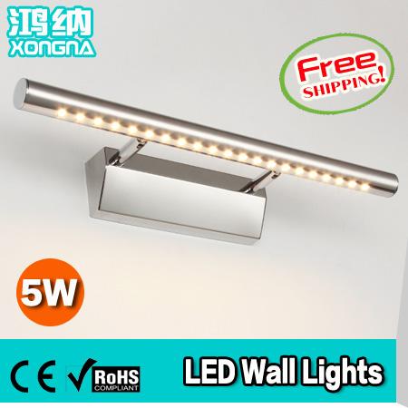Гаджет  Free shipping, Guaranteed 100% High Quality LED Mirror Front Wall Lights Modern Brief Bathroom Wall Lamp Bathroom Wall Lighting None Свет и освещение