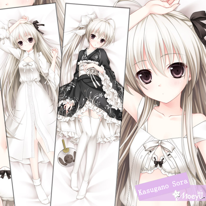 Anime Yosuga No Sora Dakimakura Sexy Hugging Body Pillow Cover Case Cushion Cute Pillows For Hotel Adult 160*50cm Free shipping