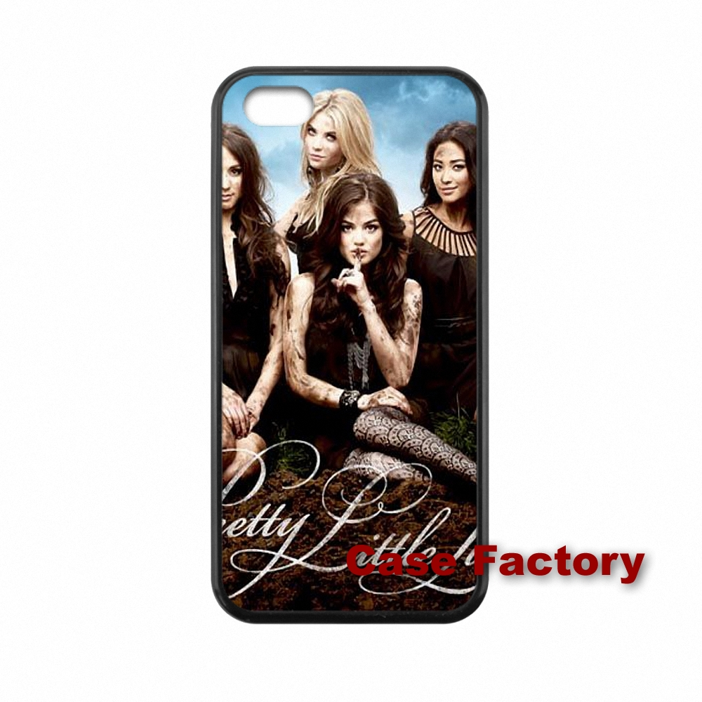 cute case Case Skin best cases Pretty Little Liars For BlackBerry 8520 9700 9900 Z10 Q10 Samsung S4 S5 S6 Active Win S Duos2(China (Mainland))