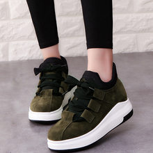 Miubu Merk Lente Herfst Platform Sneakers Schoenen Voor Vrouwen Comfortabele Ademende Casual Schoenen Vrouwen 2020 Tenis Feminino(China)
