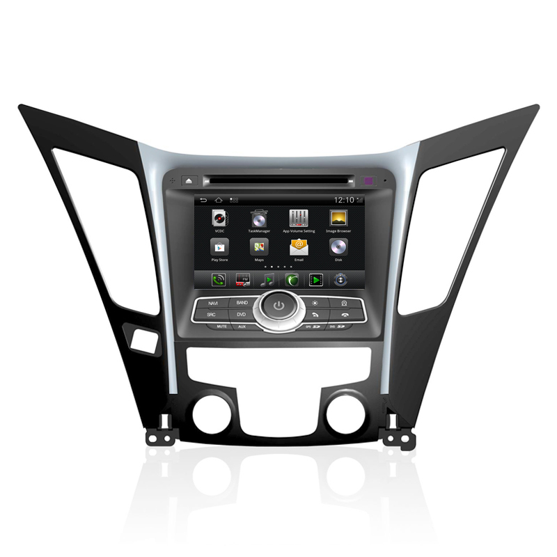 7inch in dash android car audio stereo system with dvd player gps navigation for hyundai 2011. Black Bedroom Furniture Sets. Home Design Ideas