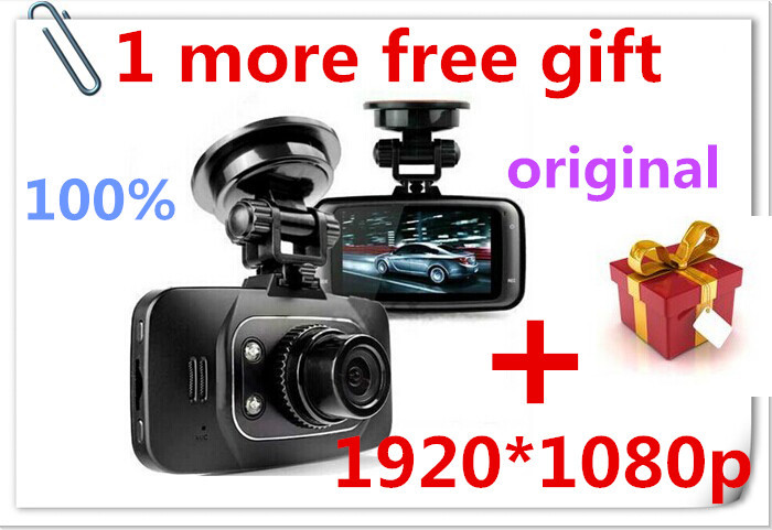 1Pcs Free Gift+100% Original GS8000L Novatek 2.7 inch 140 degree 25fps Car DVR 1920*1080P Vehicle Camera Voice Recorder GS8000(China (Mainland))