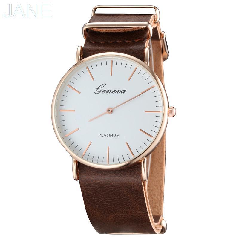 Womens Top luxury Brand Watches Women Dress Japan Movement Rose Gold Womens Wristwatches 0650<br><br>Aliexpress