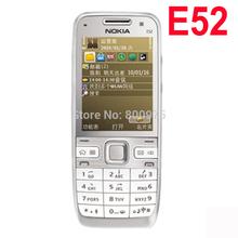 Original Nokia E52 Mobile Phone Arabic English Russian Keyboard Refurbished(China (Mainland))