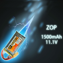 ZOP Lipo RC Battery XT60 Plug 11.1V 3S 40C MAX 60C 1500Mah For RC Car Helicopters Original Power Drone Batteria Quadcopter Parts
