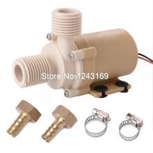 24V Solar Water Pump Circulation High Quality Food Grade 212 degree F Coupler TE090 SZ