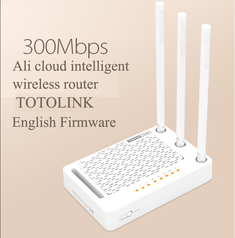 [English]Smart Wireless router 300M. Wireless transmission performance, stability wireless coverageTotolink amplificador wifi(China (Mainland))