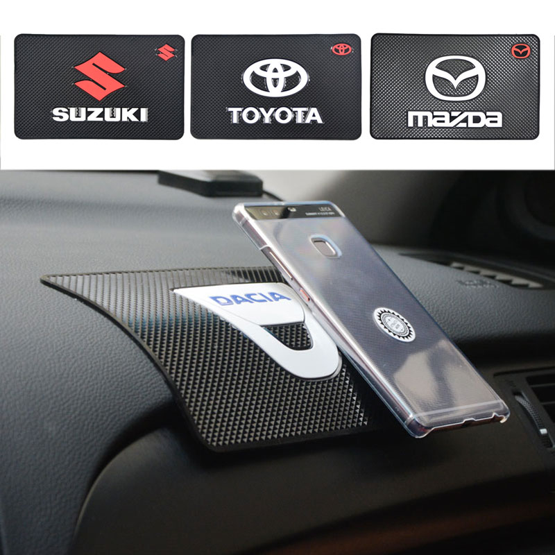 car-styling Non Slip Car Sticky Anti-Slip Mat Automobiles Interior Accessories Magic Sticky Pad for Mobile Phone GPS Mp4 Pad(China (Mainland))