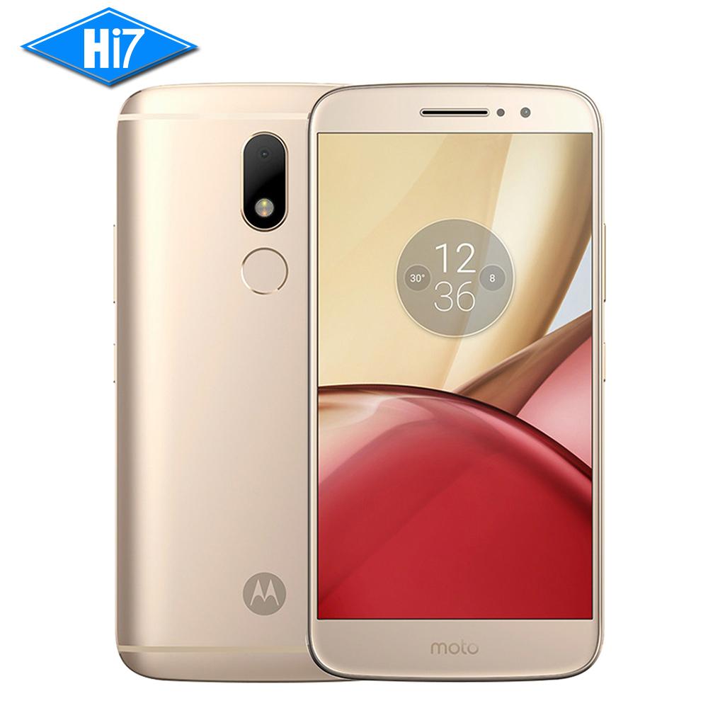 NEW Original Motorola Moto M XT1662 Mobile phone 4G RAM 32G ROM Octa core Dual SIM 4G LTE 5.5'' 16.0MP Fingerprint 3050mAh(China (Mainland))