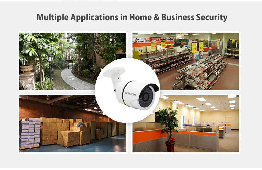 Купить SunChan Высокого Качества AHDH Камеры 1080 P 2.0MP 36 ИК-ПОДСВЕТКОЙ Ночного Видения Водонепроницаемая Камера Открытый CCTV Камеры ж/кронштейн