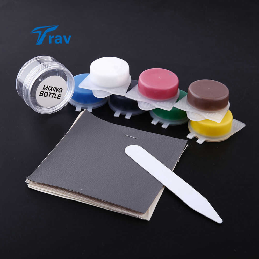 Leather Vinyl Repair Kit Fix Rips Holes For Car Home Furniture Reparing(China (Mainland))