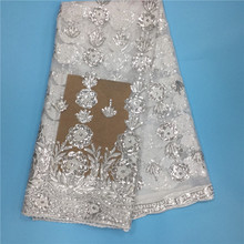 Buy PL!Latest African Laces Fabrics Embroidered African Guipure French Lace Fabric 2017 African French Net Lace Fabric ! L42501 for $47.25 in AliExpress store