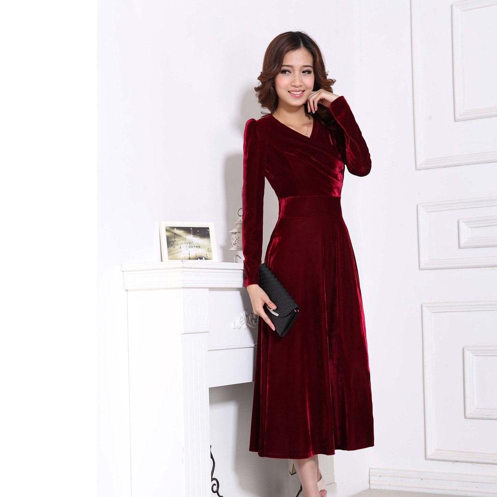 Vintage Velvet Dresses