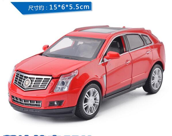 HOT SALE !!! Free shipping wholesale Cadillac 1:32 SRX model simulation of automobile back alloy toys for children gifts(China (Mainland))