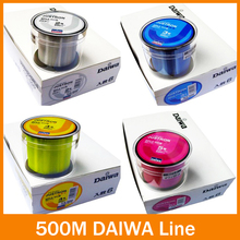 Hot Sell!! Free Shipping fishing line 500m Monofilament Strong Quality Color Nylon Fishing Line 8LB 10LB 12LB 16LB 20LB 25LB