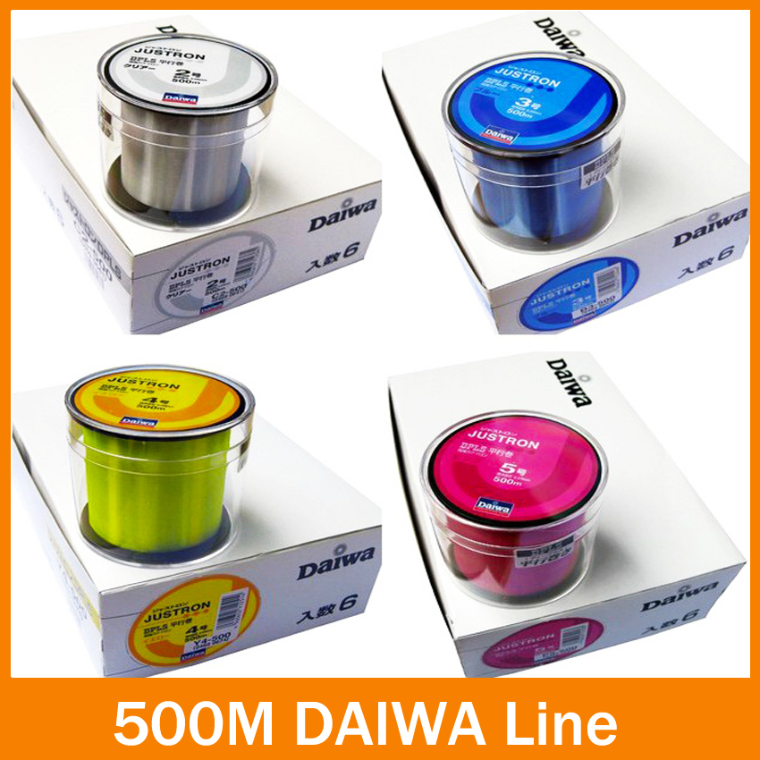 Hot Sell!! Free Shipping fishing line 500m Monofilament Strong Quality Color Nylon Fishing Line 8LB 10LB 12LB 16LB 20LB 25LB(China (Mainland))