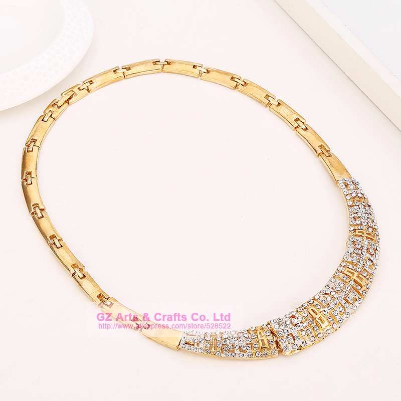 aliexpress buy jewelry set chunky necklace and