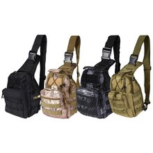 4 Colors Outdoor Crossbody One-Shoulder Military Tactical Backpacks Rucksack Camping Travel Hiking Trekking Bags mochilas(China (Mainland))