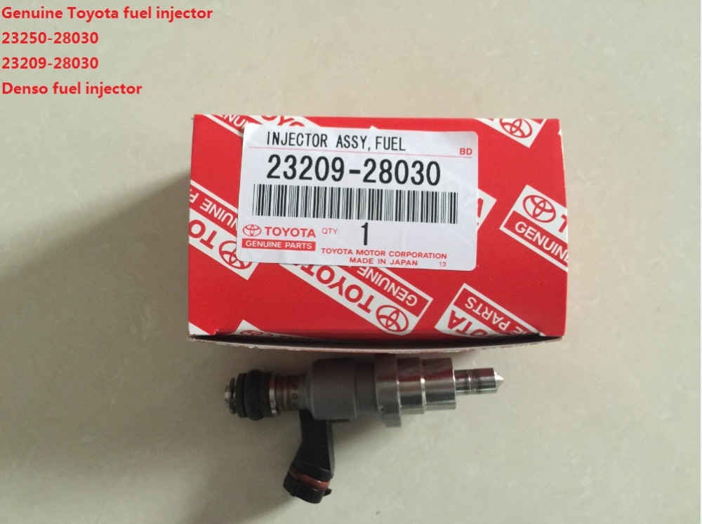 Genuine TOYOTA fuel injector RAV4 1AZ 2AZ fuel injector 23250-28030 fuel nozzle diesel 23209-28030(China (Mainland))