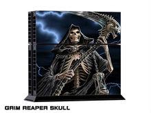 decal sticker  for PS4 grim reaper skull skin